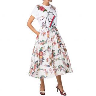 Sweet Matitos Floral Print Limited Edition Midi Skirt