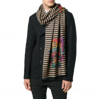 Paul Smith Dreamer Cashmere Blend Scarf
