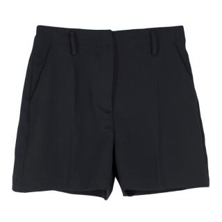 Michael Michael Kors Black High Waist Shorts