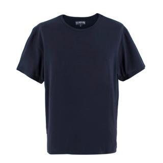 Vilebrequin dark navy cotton T-shirt
