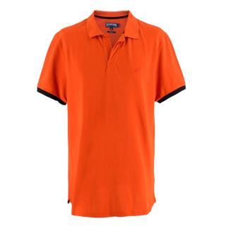 Vilebrequin Orange Polo Shirt