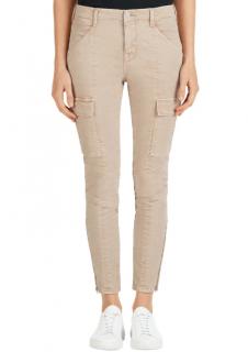 J Brand Houlihan Mid Rise Cargo Jeans