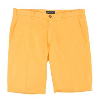 Be-Store Yellow Bermuda Shorts