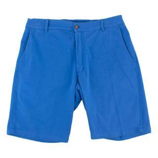 Be-Store Blue Ralph Bermuda Shorts
