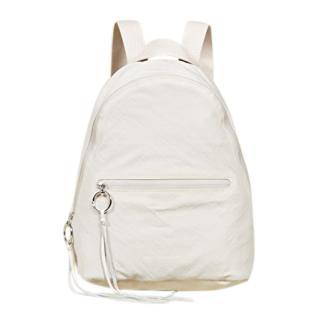 Rebecca Minkoff nylon dome backpack in bone