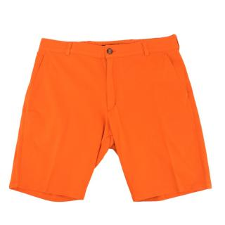 Be-Store Orange Soft Bermuda Shorts