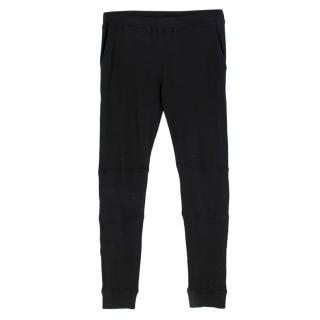 Belstaff Black Knit Joggers