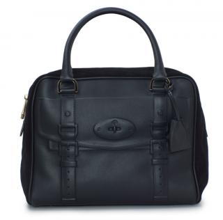 Mulberry Black Maisie Clipper Bag