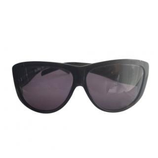 MaxMara oversized black sunglasses