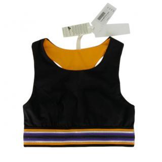 No Kai Oi black Lani sport top