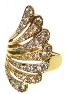 Bespoke Crystal Fan Ring