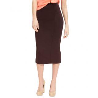 Diane von Furstenberg 'Ruthanne' Seamed Pencil Skirt