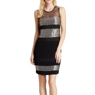 Diane von Furstenberg Wally crystal embellished dress