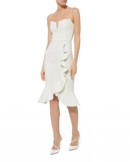 Nicholas Bandage Ruffle Dress
