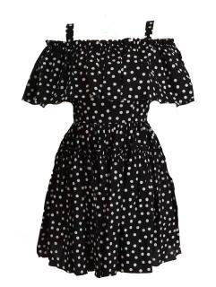 Dolce & Gabbana polka dot mini dress