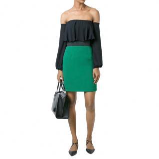 Dolce & Gabbana short green pencil skirt