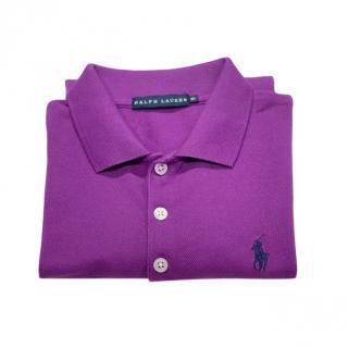 Polo Ralph Lauren Purple Polo T-Shirt