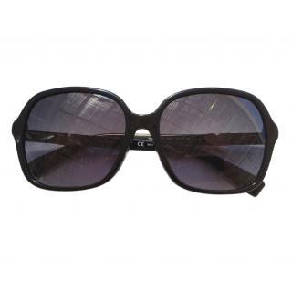 Max Mara Black Oversize Sunglasses