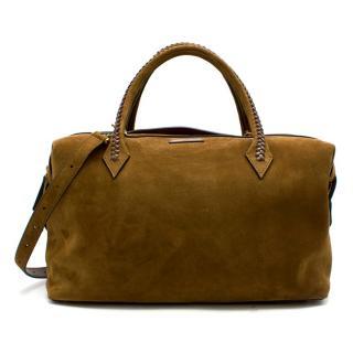 Metier Tan Brown Suede Perriand City Bag