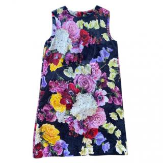 Dolce & Gabbana floral printed sleeveless dress