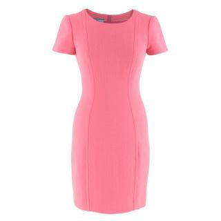 Prada Pink Bodycon midi Dress