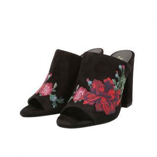 Polo Ralph Lauren Kinley Suede Mule Sandal