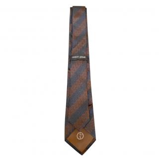 Giorgio Armani Silk Striped Tie