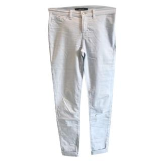 J Brand light blue slim cut jeans