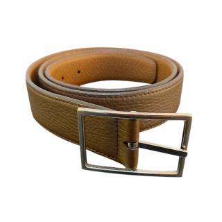 Barneys New York Reversible Leather Belt
