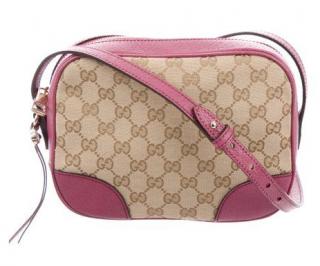 Gucci Bree Supreme Monogram Messenger Bag