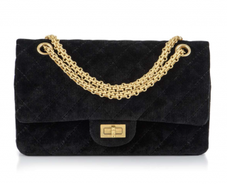 Chanel Velvet Reissue 225 Double Flap