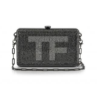 Tom Ford Crystal-Embellished Mini Clutch Bag