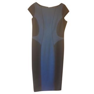 Amanda Wakeley Two-Tone Shift Dress