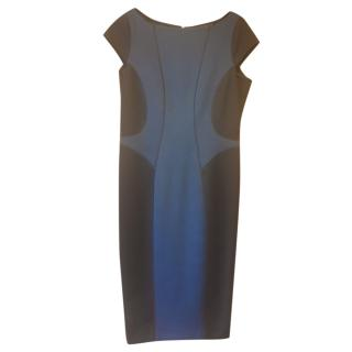 Amanda Wakeley Two-Tone Shift Dress
