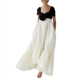 Anna October Asymmetrical A Line Maxi Dress