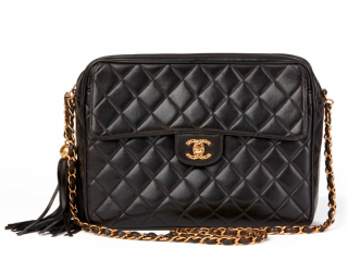 Chanel Vintage Leather Camera Bag