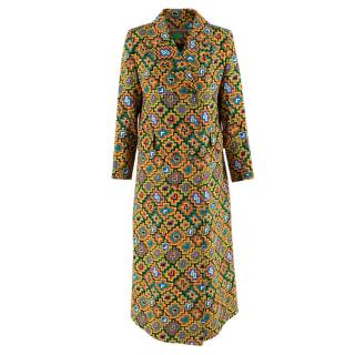 Duro Olowu Multicoloured Printed Silk Blend Coat