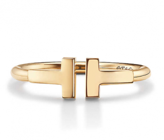 Tiffany & Co. Yellow Gold Tiffany T Wire Ring