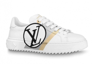 Louis Vuitton Graphic Stripe Time Out Sneakers