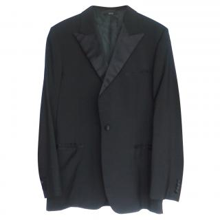 Hermes Black Men's Smoking Jacket