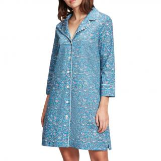 Liberty Blue Imran Floral Night Dress
