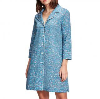Liberty Blue Imran Floral Night Dress