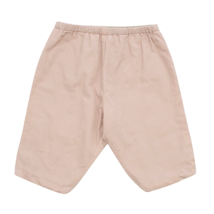 Bonpoint Dusty Pink Baby Cord Trousers