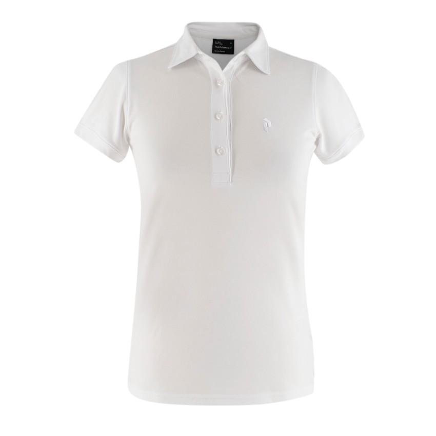 Peak Performance White Polo Shirt