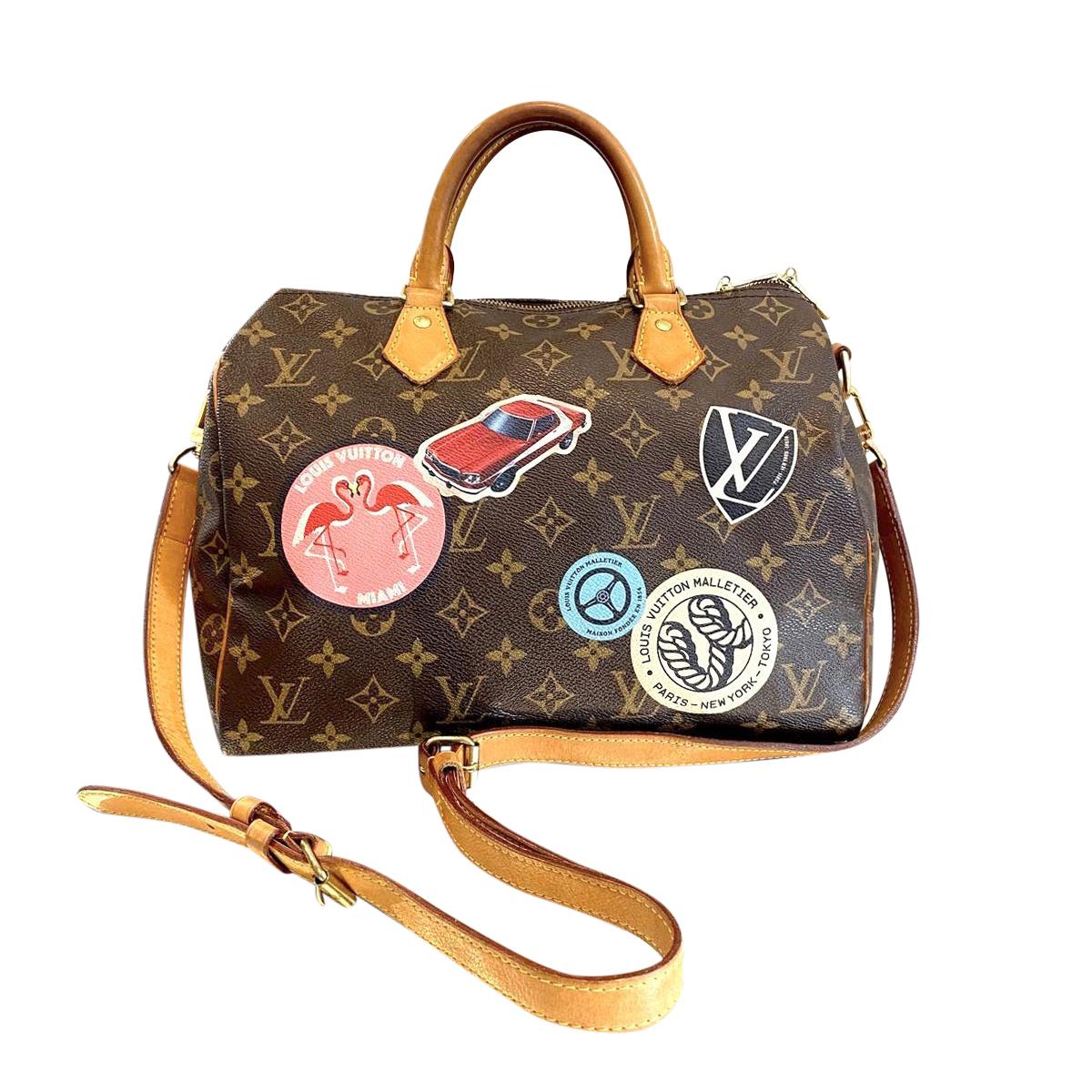 Louis Vuitton Monogram World Tour Speedy 30 Hewi