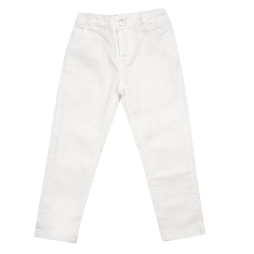 Gucci Kids Ivory Jeans