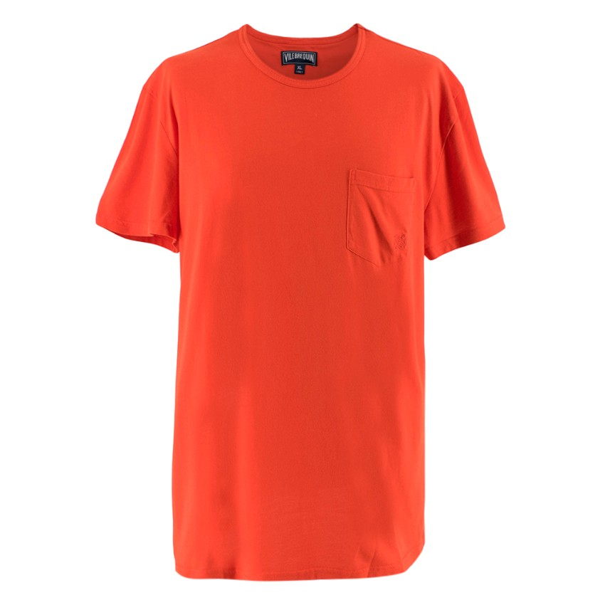 Vilebrequin Bright Red T-shirt with Pocket