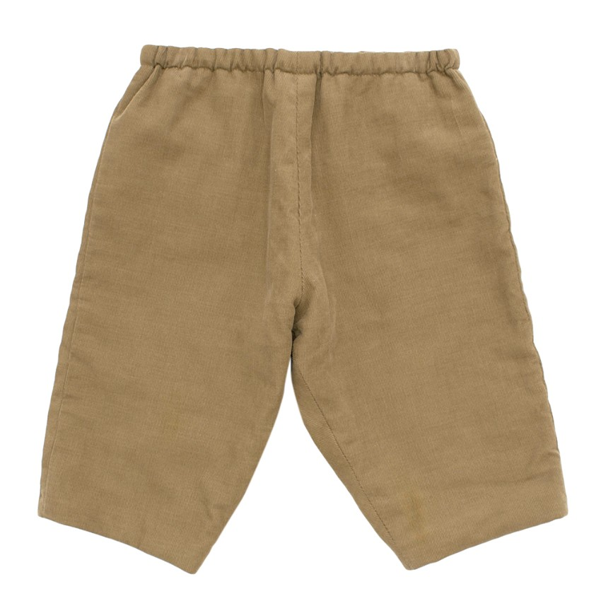 Bonpoint Baby Camel Cord Trousers
