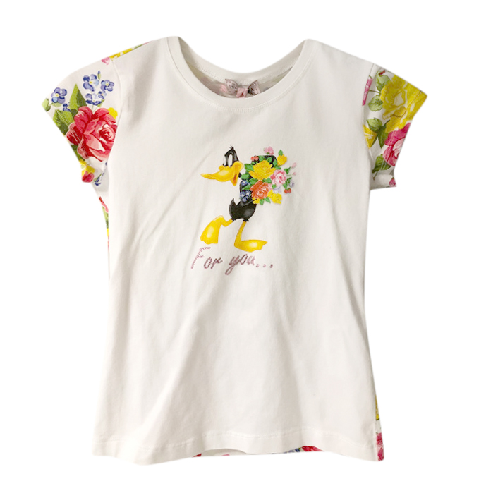 Monnalisa Daffy Duck For You T-Shirt
