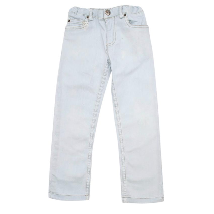Bonpoint Light Wash Blue Baby Jeans